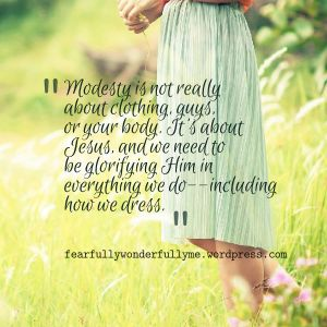 modesty quote